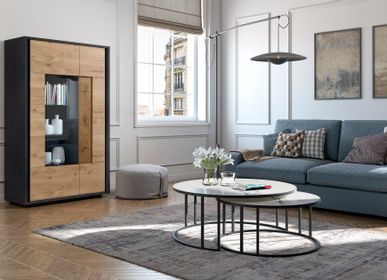 Coffee tables - Megan Round Coffee Table - ZAGAS FURNITURE