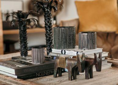 Ceramic - Zebra ceramics candle - CÔTÉ BOUGIE