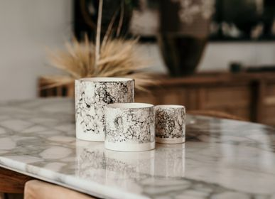 Decorative objects - Marbled Collection  - CÔTÉ BOUGIE