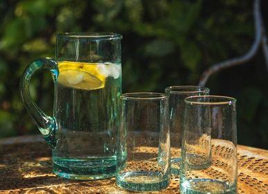 Carafes - Carafe en verre  recyclé beldi - CHIC-INTEMPOREL