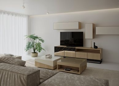 Coffee tables - Oblique Coffee Table - ZAGAS FURNITURE