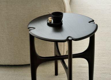 Tables basses - Table basse et d'appoint en acajou PI marron foncé - ETHNICRAFT
