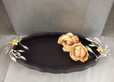 Platter and bowls - Trays and Table Accessories - 19SIDES BY  SHIVAM