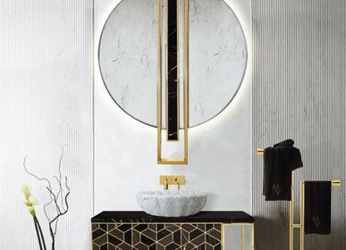 Miroirs pour salle de bain - MIROIR BOUCLIER - MAISON VALENTINA