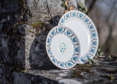 Formal plates - 09O/02 Large Dinner Plate 26 cm  - MAISON MANOÏ