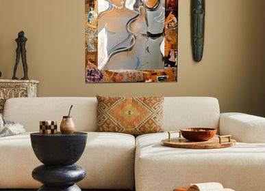 """Paintings - """"WE"""" Original painting - L'ATELIER D'ANGES HEUREUX"""