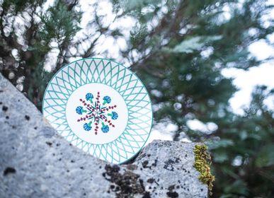 Formal plates - Flat plate 26 cm  - MAISON MANOÏ
