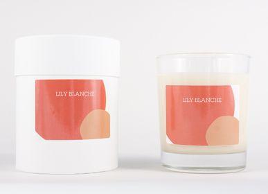 Bougies - BOUGIE ORANGE - LILY BLANCHE