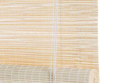 Rideaux et voilages - Store enrouleur en bambou léger - COLOR & CO