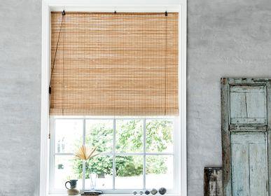 Rideaux et voilages - Store enrouleur en bambou marron - COLOR & CO