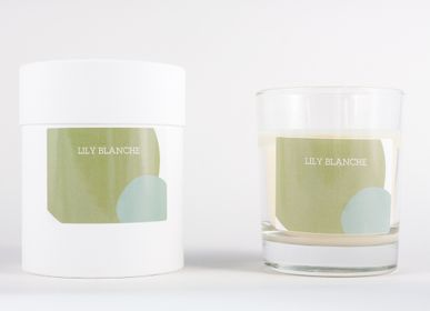 Bougies - BOUGIE VERTE - LILY BLANCHE