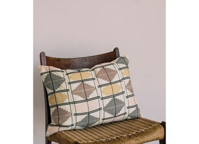 Coussinstextile - Coussin diamant (or/terre) - GOLDEN EDITIONS