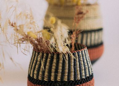 Objets de décoration - Vase Pin Stripe - GOLDEN EDITIONS