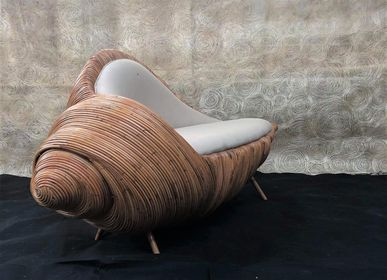 Chaises longues - Shell Lounge Chair - FINALI FURNITURE