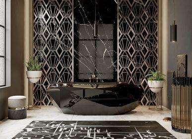 Tapestries - Blanc Ink Rug - RUG'SOCIETY