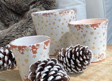Bougies - Bougies parfumées en céramique de la collection hiver - WAX DESIGN - BARCELONA