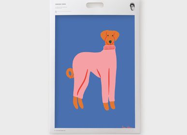 Other wall decoration - Art Print Kids with Naomi Wilkinson - Marcel & Joachim - SERGEANT PAPER