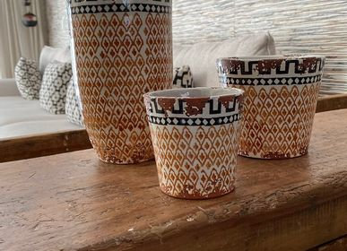 Candles - Ethnic inspired ceramic scented candles - WAX DESIGN - BARCELONA