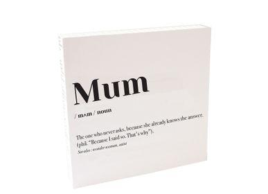 Affiches - Quadretto «Maman» - ESSENT'IAL