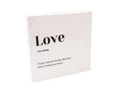Affiches - Quadretto «Amour» - ESSENT'IAL