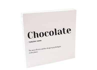 Affiches - Quadretto «Chocolat» - ESSENT'IAL