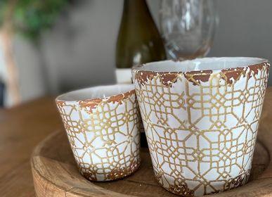Bougies - Bougies parfumées en céramique Lattice Collection - WAX DESIGN - BARCELONA