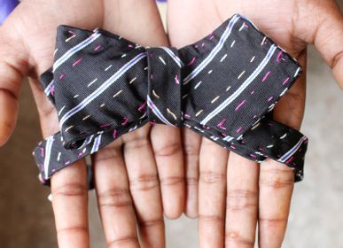 Apparel - Kantha bow tie - BASHA BOUTIQUE