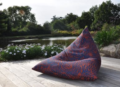 Fabric cushions - CUSHION BERLINGOT IKEBANA (Collection 2022) - TOILES & VOILES