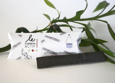 Tea and coffee accessories - FRENCH BAMBOO ACTIVATED CARBON - LE CHARBON ACTIF FRANÇAIS