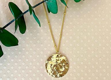 Bijoux - Collier doré à l'or fin. Chaine plaquée or de 50cm. - NAO JEWELS