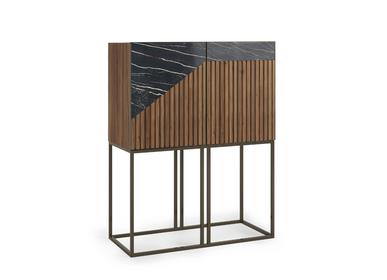 Boîtes de rangement  - Petit meuble de bar Oblique - ZAGAS FURNITURE