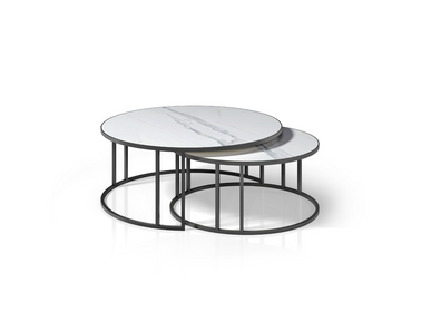 Tables basses - Table basse ronde Megan - ZAGAS FURNITURE