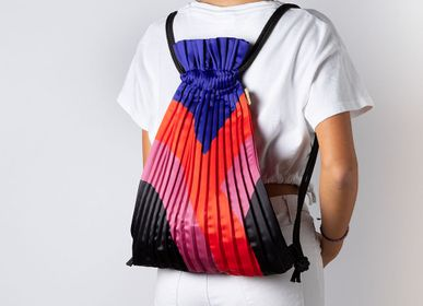 Bags and totes - Patterned Pleated Backpacks - WRITE SKETCH &