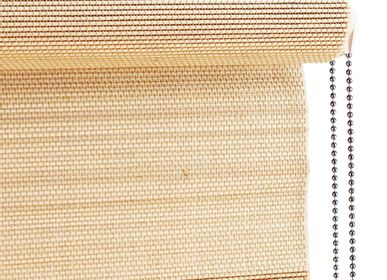 Rideaux et voilages - Store enrouleur léger en bambou, avec chaîne à tirer - COLOR & CO