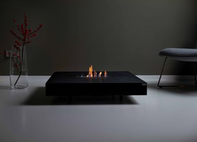 Coffee tables - TABULA IGNIS Concrete Lounge Table with or without Fireplace - CO33 EXKLUSIVE BETONMÖBEL