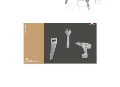 Other wall decoration - Magnet en métal - Bricolage - TOUT SIMPLEMENT,