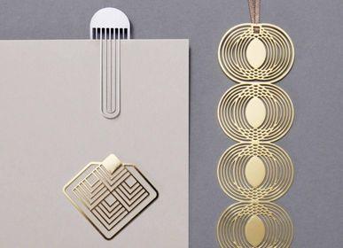 Stationery - Marque-page en métal - collection graphique - TOUT SIMPLEMENT,
