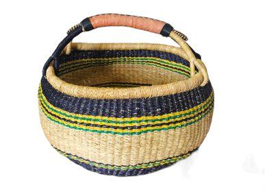 Decorative objects - EFIA bolga basket - MAISON LAADANI