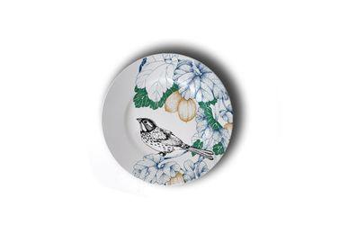 Other wall decoration - Birds Song _Porcelain Set - FRANCESCA COLOMBO