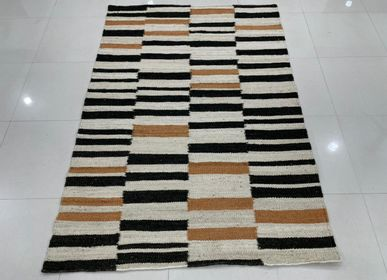 Bespoke carpets - Colorful Customizable Direct From Manufacturer HandWoven Jute Rug and Carpet 4 - INDIAN RUG GALLERY