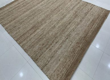 Rugs - Natural Fibre Customizable Direct From Manufacturer HandWoven Jute Rug and Carpet 7 - INDIAN RUG GALLERY