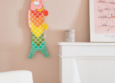 Children's decorative items - Rainbow Koinobori (K026/S) - MADAME MO
