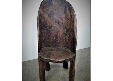 Objets de décoration - Fauteuil Naga monobloc en bois - JD PRODUCTION - JD CO MARINE
