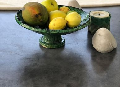 Unique pieces - Tamegroute tableware and candle holders - CHIC-INTEMPOREL