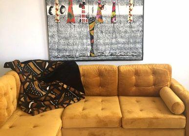 Decorative objects - Plaid, Bogolan Sofa Throw - MAISON LAADANI