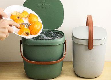 Objets de décoration - Foody - Qualy Kitchenware: Contenant de stockage des aliments 100% recyclable - QUALY DESIGN OFFICIAL