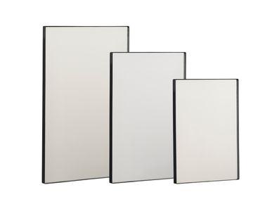 Mirrors - Villa Collection 3 Mirror Set Black - VILLA COLLECTION