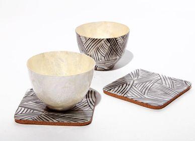 Mugs - Shell patterned Cup - ITHEMBA