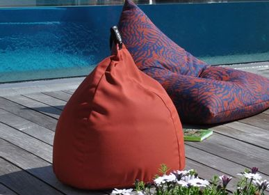 Outdoor decorative accessories - CUSHION DROP MOSAIC - TOILES & VOILES
