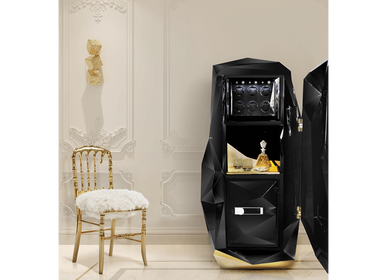 Boîtes de rangement  - Diamond Black Coffre de luxe - BOCA DO LOBO